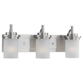 home depot bathroom lights. Sea Gull Lighting 3 Light Winnetka Brushed Nickel Bathroom Vanity 95 best images on Pinterest  lighting