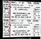 Ticket  pair tickets Lauryn Hill by the Stage Saenger Theatre New Orleans saints RnB #deals_us