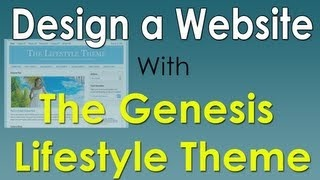 How To Design A Website With The Genesis Wordpress Theme! Free Cloud Hosting click on Hostzilla banner on right!