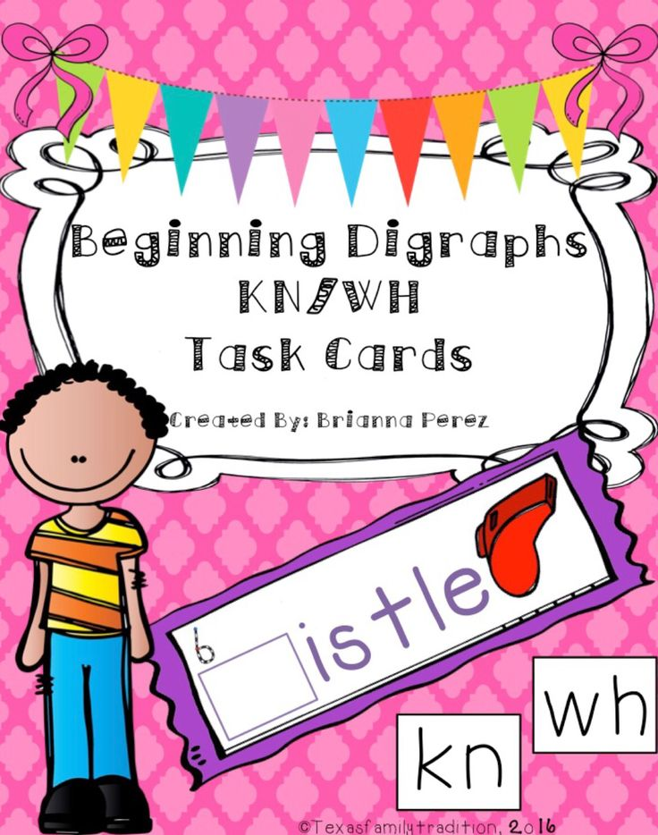 To use this resource, cut out and laminate the digraphs KN/WH task cards and digraphs KN/WH cards. Place them in a center along with the recording sheet. Students will take a digraph KN or WH card and place it onto the correct task card to form the correct digraphs KN/WH word. Students will record their work. They will write the correct digraph KN/WH word down for that task card. For 1st and 2nd grade.