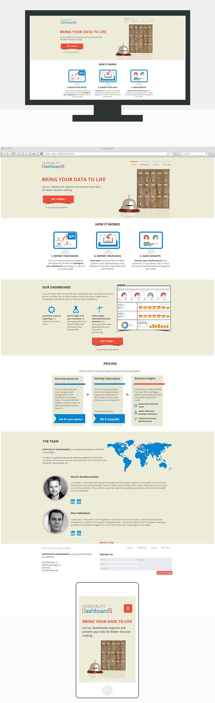 Tech Company One Pager — UnfoldAtelier: Boost Sales with Friendly Design