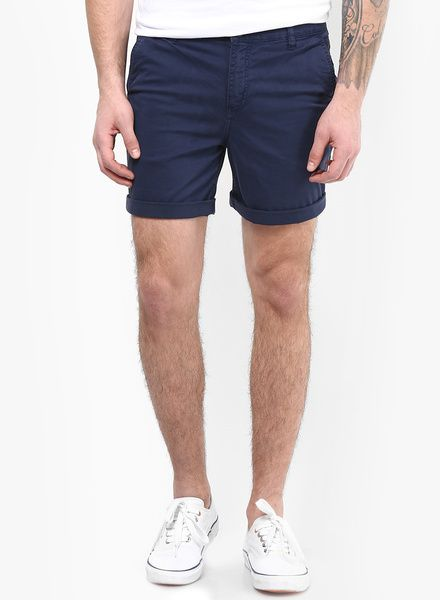 Buy Incult Skinny Chino Shorts In Dark Blue for Men Online India, Best Prices, Reviews | IN364MA62BNLINDFAS