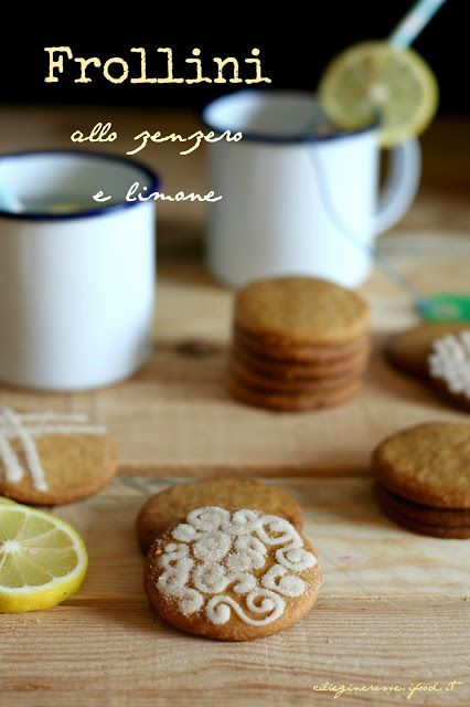 Cakes Lab Test&Taste: Frollini zenzero e limone