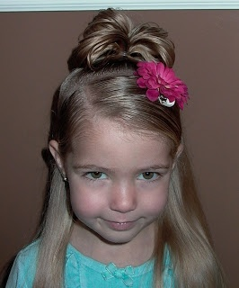 Little Girls Hairstyles -The Thumbelina