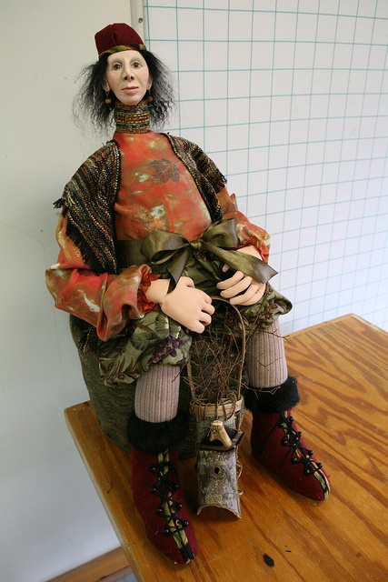 Doll Making Make an Elf Yourself, Rebecca Kempson by John C. Campbell Folk School, via Flickr: Doll Making, Dolls Art, Rebecca Kempson Dolls, Dolls Make, Art Dolls, Photo