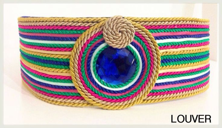 #Louvermarbella#cinturon#complementos#multicolor#cordon