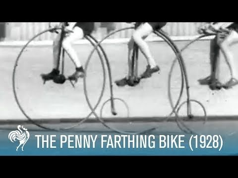 (The Penny Farthing Bike Race (1928) | British Pathé - YouTube