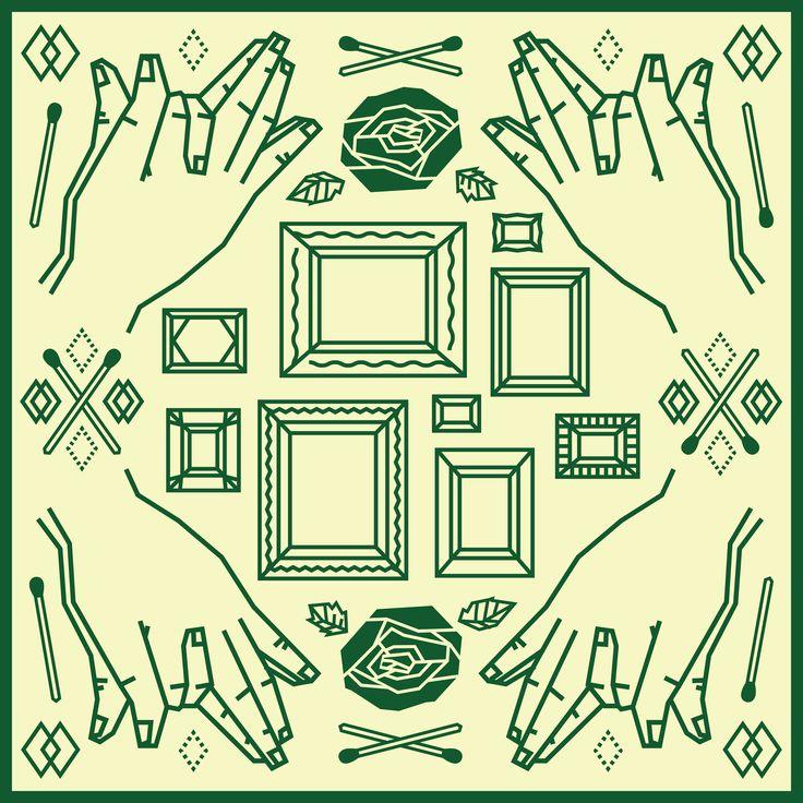 Pattern Work:03 #gara #fashion #art #design #graphic #logo #poster #pattern #japan #exhibition #柄 #textile #gallery #graphicdesign