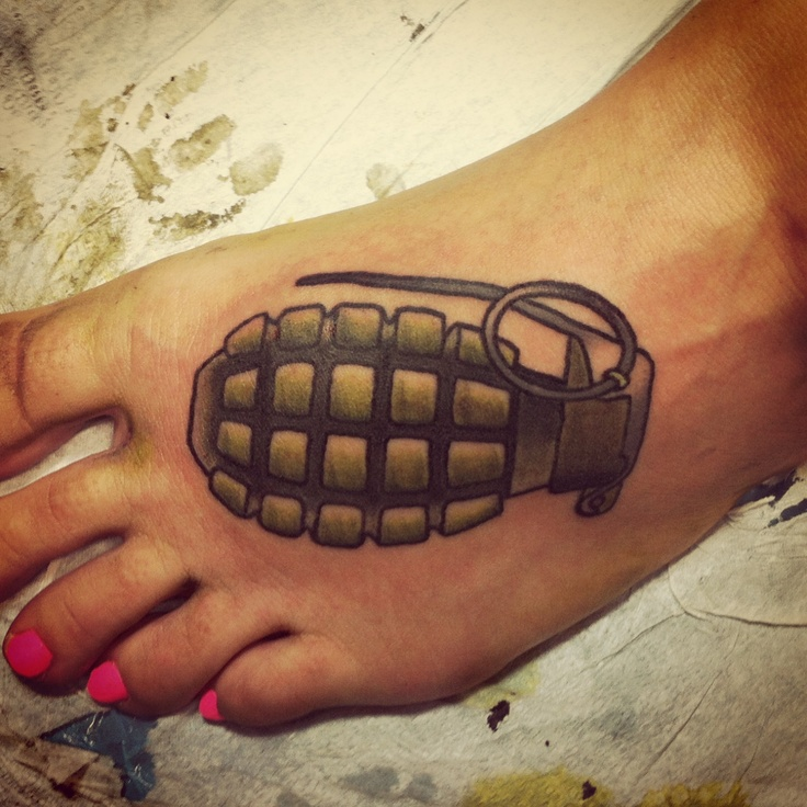 17 Best Images About Grenade Tattoos On Pinterest