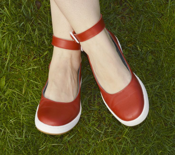 New red ballerina #footwear #redshoes #fashion #cute #girly