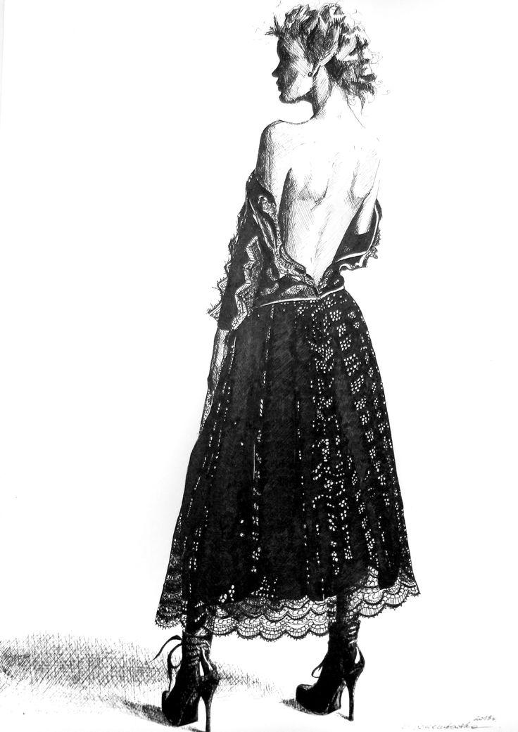 Inspired by Gosia Baczyńska's dress