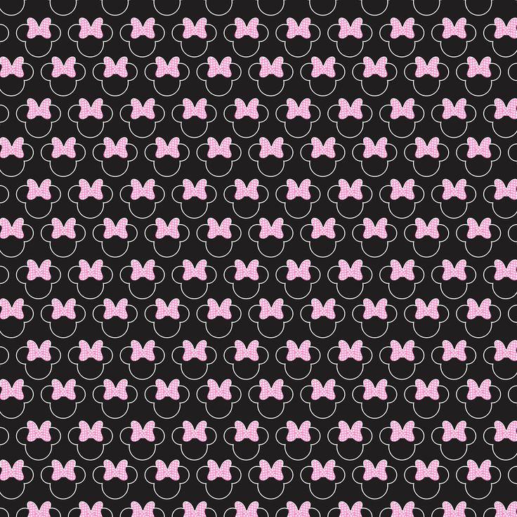 Papel Digital Minne Rosa, Minnie Paper - Minus