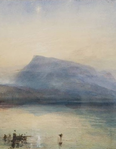 JMW Turner _ The Blue Rigi, Sunrise