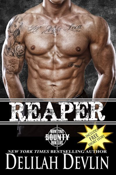 See what happens when Montana bounty hunter Reaper has a ride-along author who proves her grit and ingenuity and challenges his strict relationship rules https://www.amazon.com/dp/B075XSGCS2