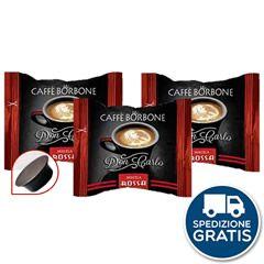 50 CAPSULE CAFFÈ BORBONE DON CARLO MISCELA ROSSA