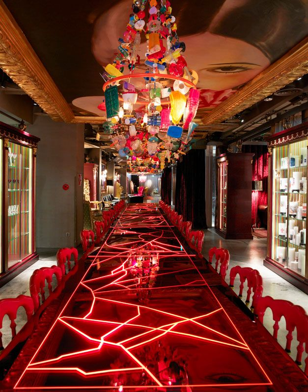 Lan Restaurant in Beijing designed by Philippe Starck. I visited it and was…