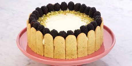 Blackberry and White Chocolate Charlotte - Anna Olson