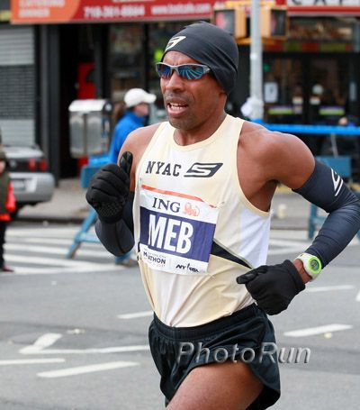 Meb is running New York City for the 10th time, so he has some expertise on the route.