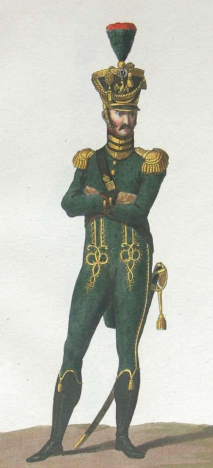 Colonel Commandant of the Chasseur Carabiniers