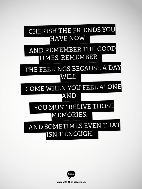cherish quote