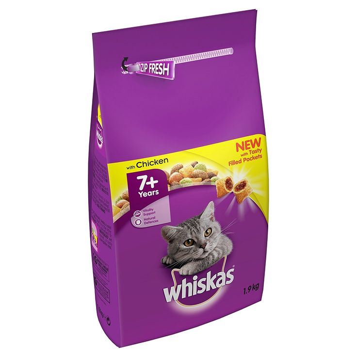 Mars petcare whiskas for 7 plus months complete dry with