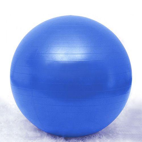 Balance Ball Blue: GOGO 65cm Anti-burst Yoga Ball / Fitness Ball / Exercise