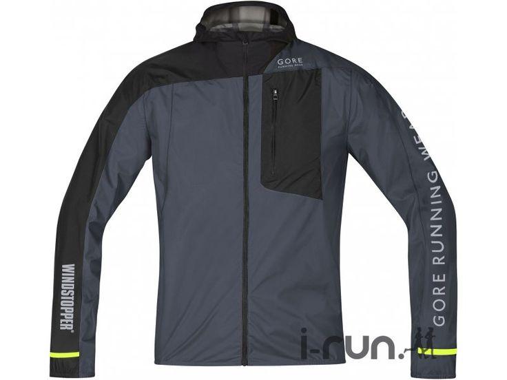la veste coupe vent gore running wear fusion windstopper