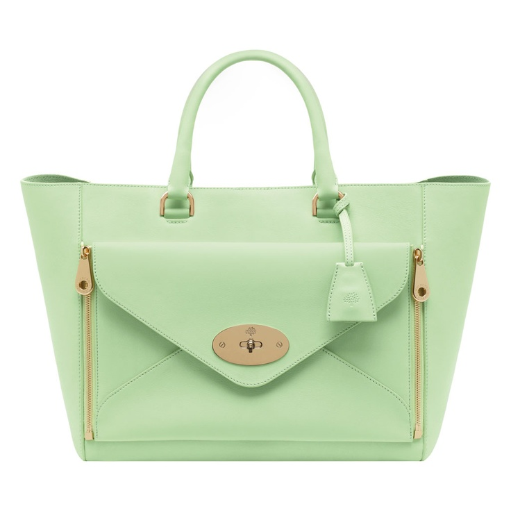 Mulberry Willow Tote in Mint