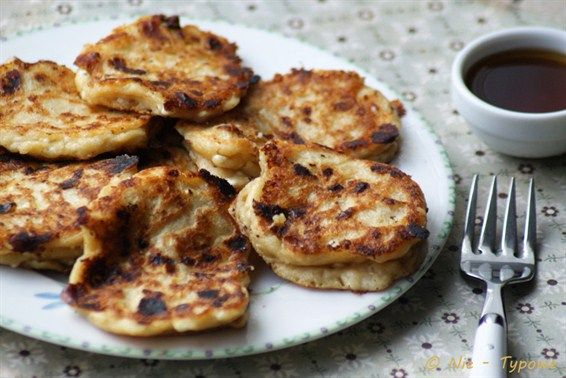 Cottage Cheese Spelt Pancakes