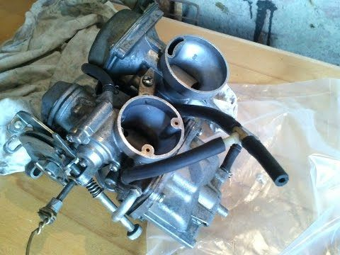 регулировка карбюратора мотоцикла Yamaha SRX, XT - YouTube
