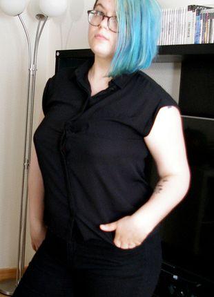 À vendre sur #vintedfrance ! http://www.vinted.fr/mode-femmes/autres-hauts/24173890-chemise-transparente-noire-pour-etre-le-plus-jolie-du-monde