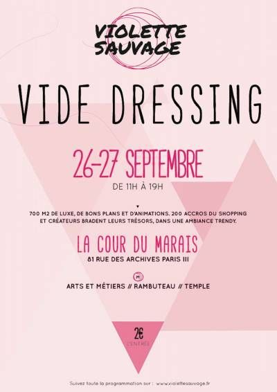 affiche vide dressing violette sauvage vide dress dress. Black Bedroom Furniture Sets. Home Design Ideas