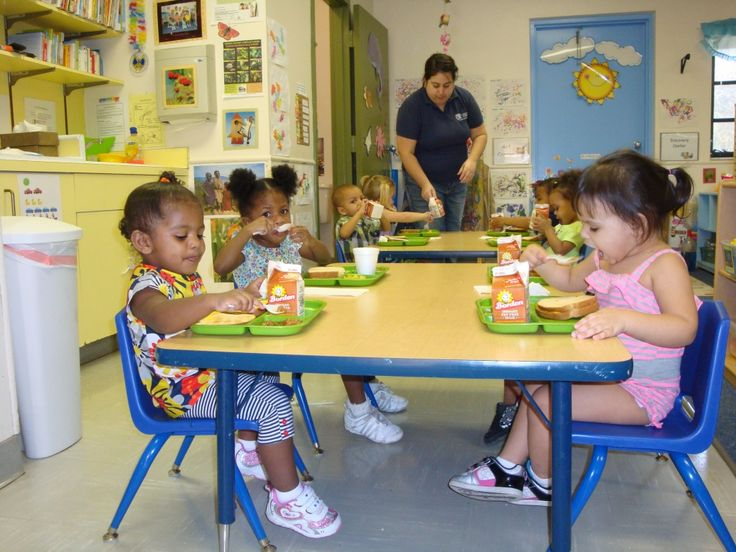 toddler eating area Child care services, Starting a