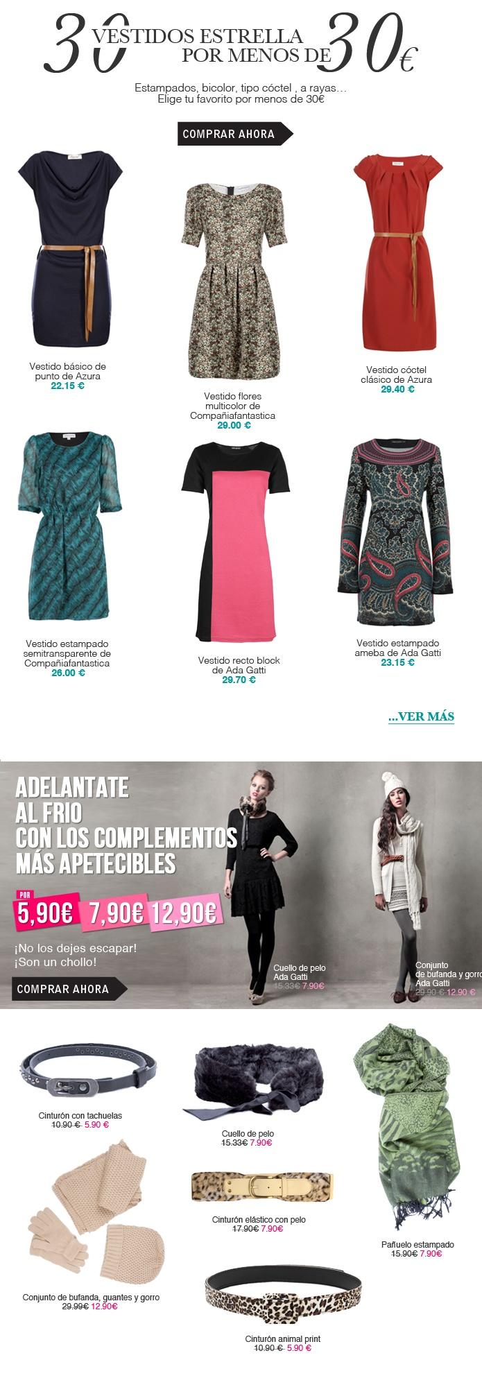 30 Vestidos por menos de 30 €