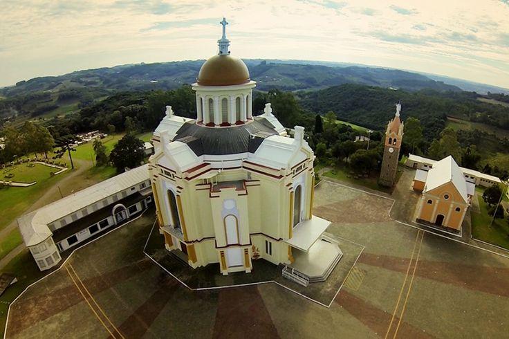 Santuário de Nossa Senhora de Caravaggio, Farroupilha/RS   #farroupilha #serragaucha #riograndedosul #brasil #brazil #church #igreja