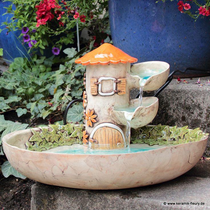 Brunnen - FLEURY - Kreative Keramik für Haus und Garten