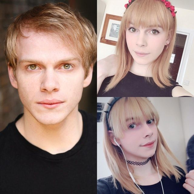Reddit - transtimelines - 25yo MTF. LEFT: pre-transition RIGHT: 1 year HRT. So happy I could cry... and I often do!