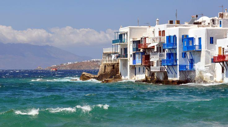 The Little Venice of #Mykonos island! #KeyTours #cruises #Greece