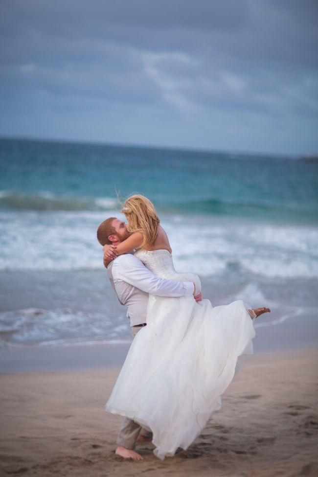 Maui beach wedding Dmitri and Sandra Photography