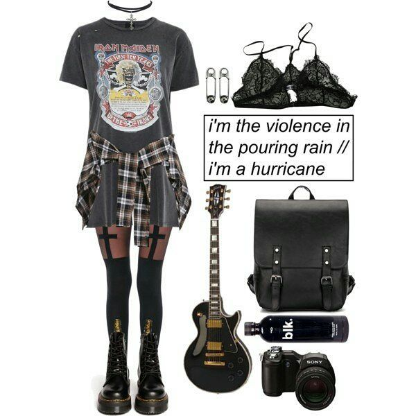 """Like 7,978 times, 9 comments – Grunge Look Book (moonfloof) on Instagram: """"#grunge #softgrunge #indie #hipster #urban #goth #gothic #rock #punk …"""