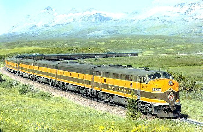 Empire Builder (Great Northern Railroad)--now a route on Amtrak