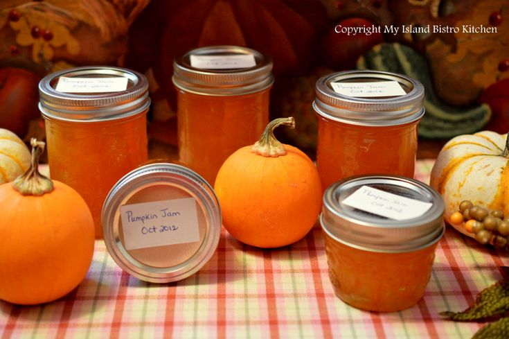 Pumpkin Jam....made with pumpkin, pineapple and orange jello and sugar