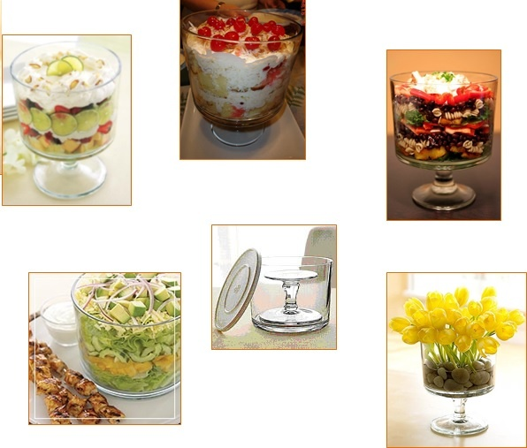 Trifle Bowl Recipes - Click the picture for tons of Trifle Bowl Recipes for your Pampered Chef Trifle Bowl