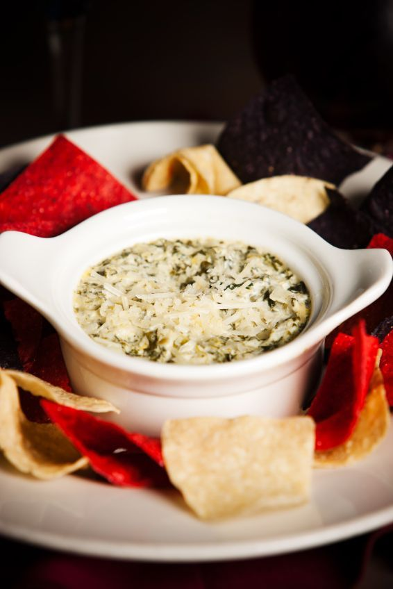 Houston's Artichoke Spinach Dip    This was the best spinach and artichoke dip I've ever had, so I'd definitely like to try this copy cat recipe and see how it turns out.