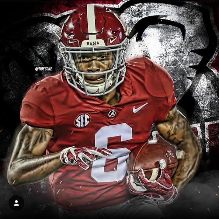 6 Devonta Smith Alabama Crimson Tide Football Alabama Crimson Tide Crimson Tide Football