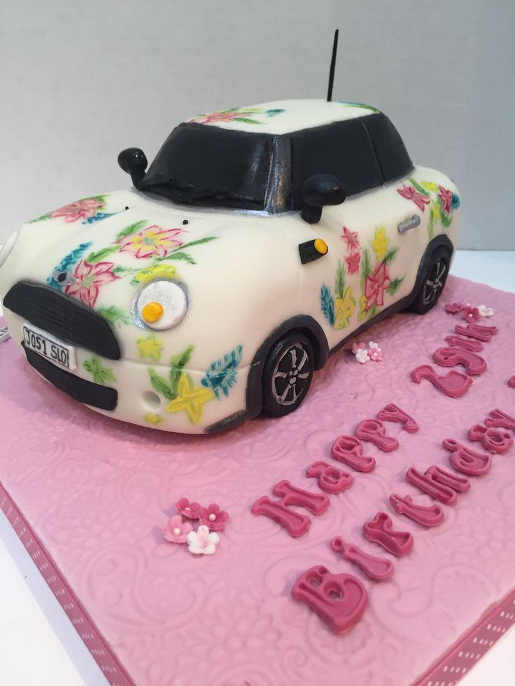 Novelty Birthday Cakes Mini Car Image Inspiration of Cake and