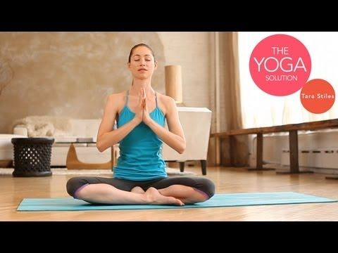 Beginner Yoga 10 min video, slow warm up poses.