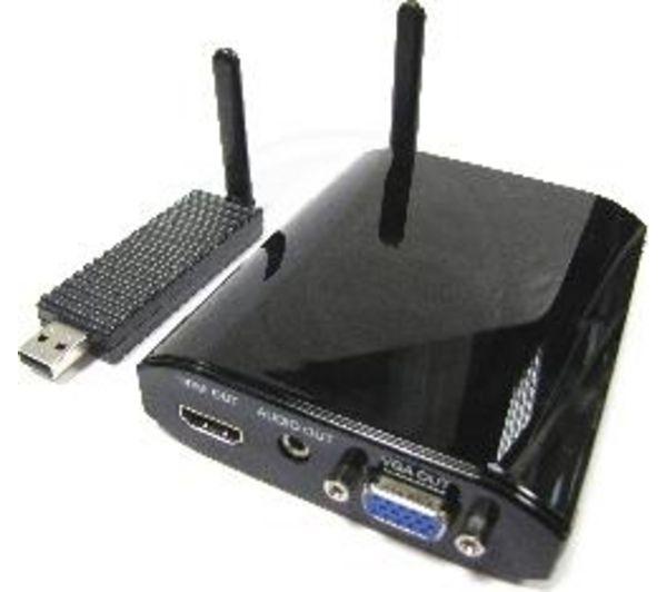 Cablematic Transmissor Sem Fio Usb Para Vga E Hdmi Em 10m