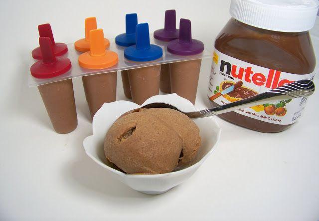 Nutella Ice Cream in your Blender!