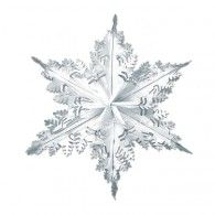Winter Snowflake Decoration Silver Metallic $11.95 BE20505-S